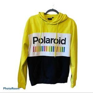Polaroid Womens Vintage-Like Yellow Sweatshirt